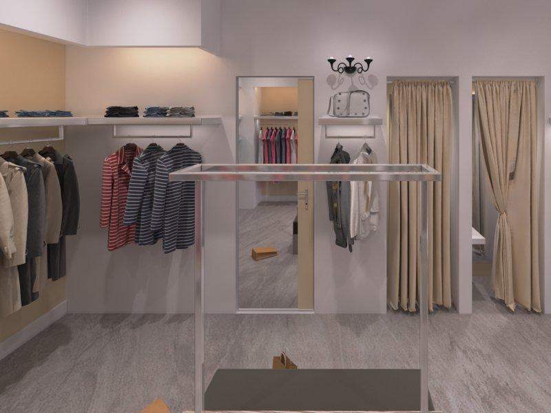 Arredamento boutique Palermo