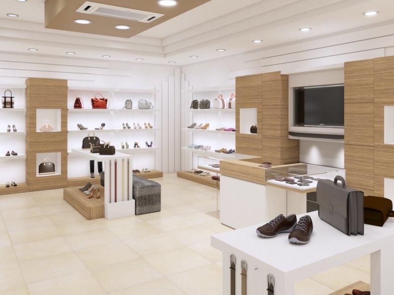 Arredamento negozio di calzature a palermo piergi for Piergi infissi palermo