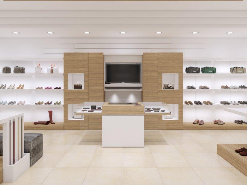 Arredamento negozio di calzature a palermo piergi for Adile arredamenti palermo