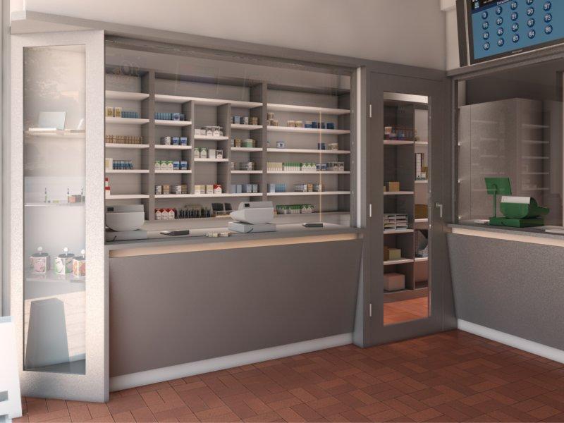 Piergi arredamento negozi palermo for Arredamento bar tabacchi usato